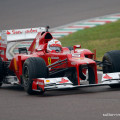 Vettel's Maiden Ferrari Run