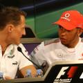 Lewis Hamilton Michael Schumacher