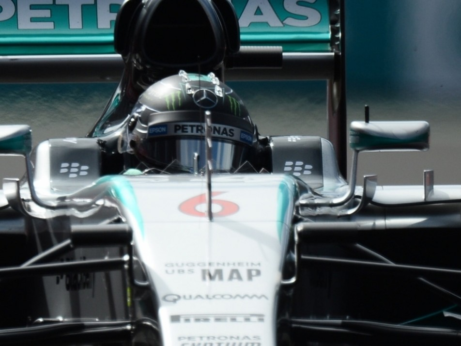 Rosberg is a man in need of a good fight