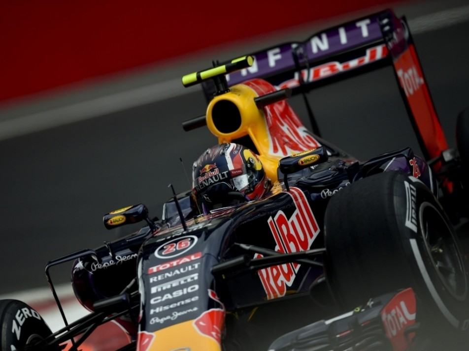 Red Bull showing good pace