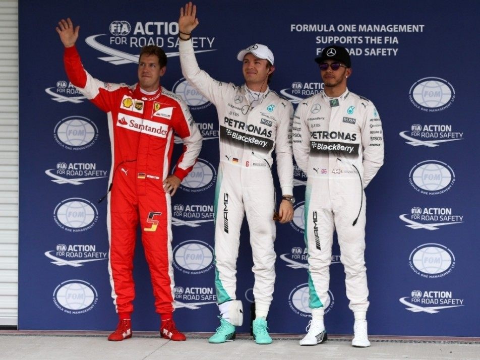 The top three from qualy