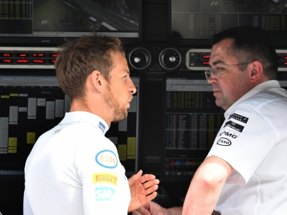 Button has a chat with Boullier