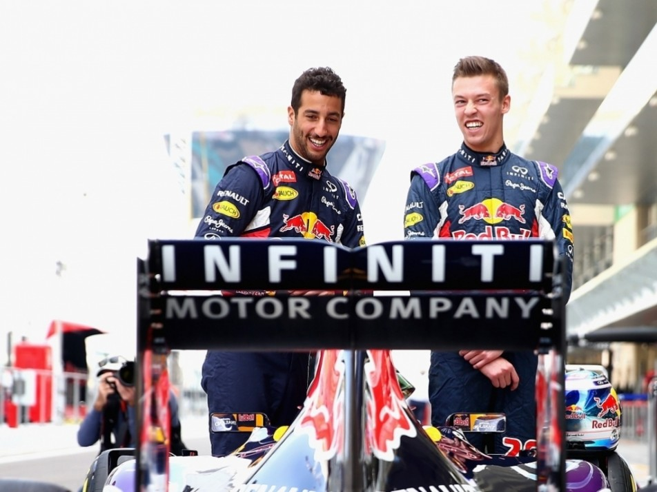 Are Red Bull smiling because 2015 is finally over?