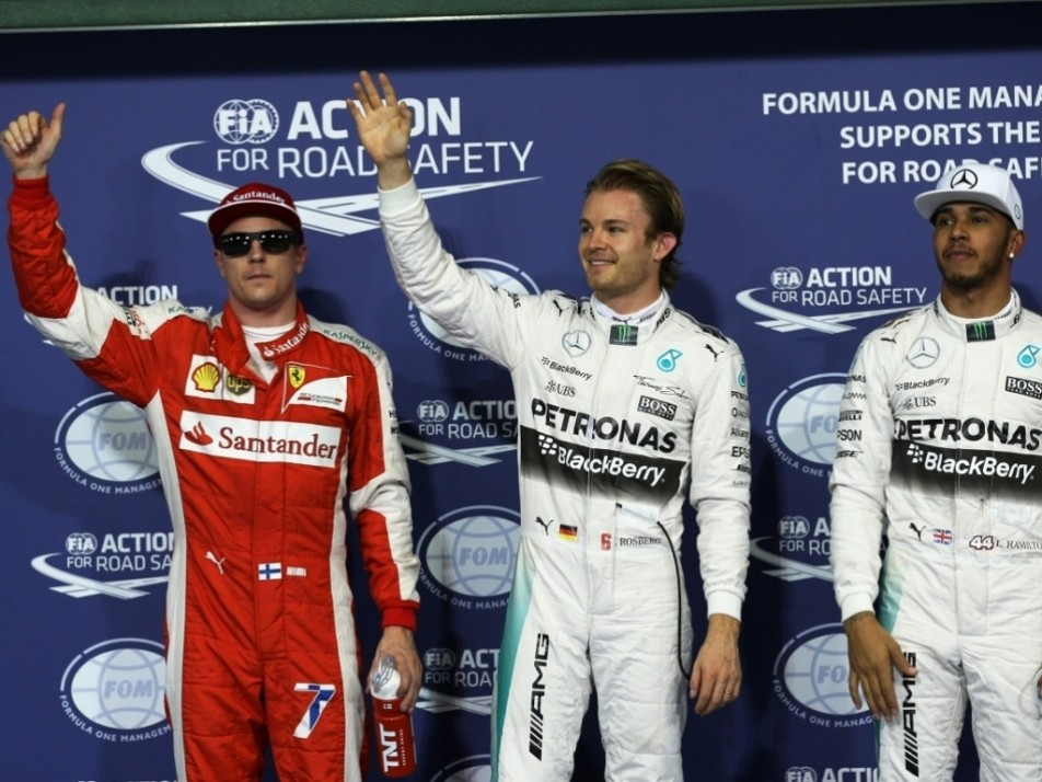 Your top three qualifiers in Abu Dhabi