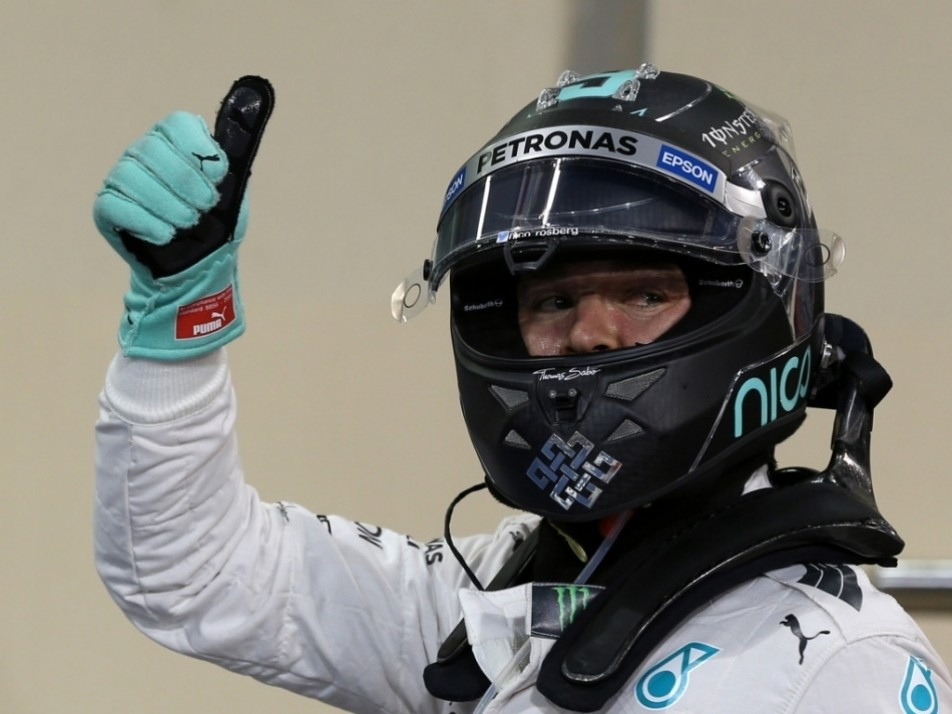 Rosberg made it six poles in a row
