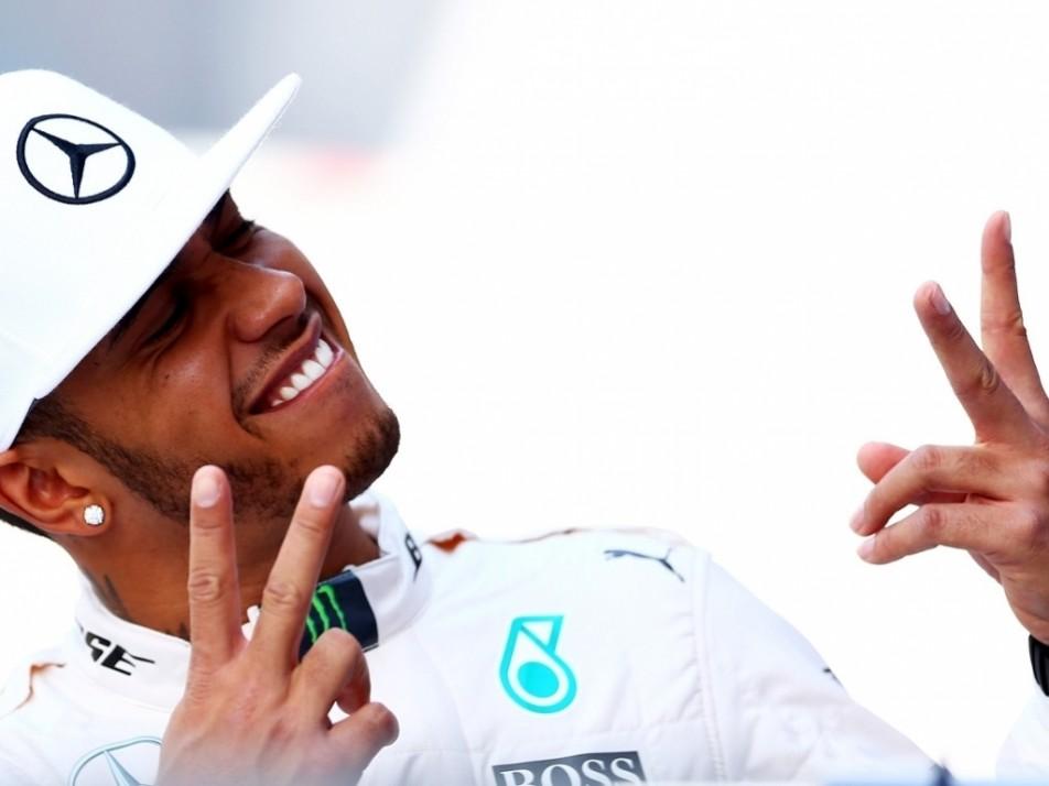 Hamilton, a very happy World Champion