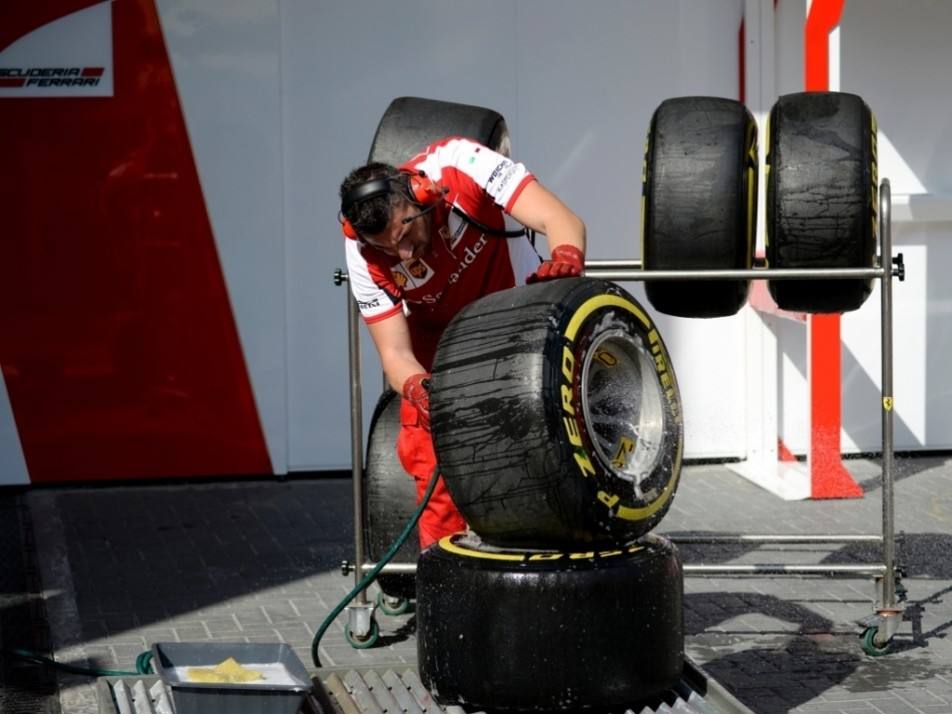 Have you washed your tyres today?