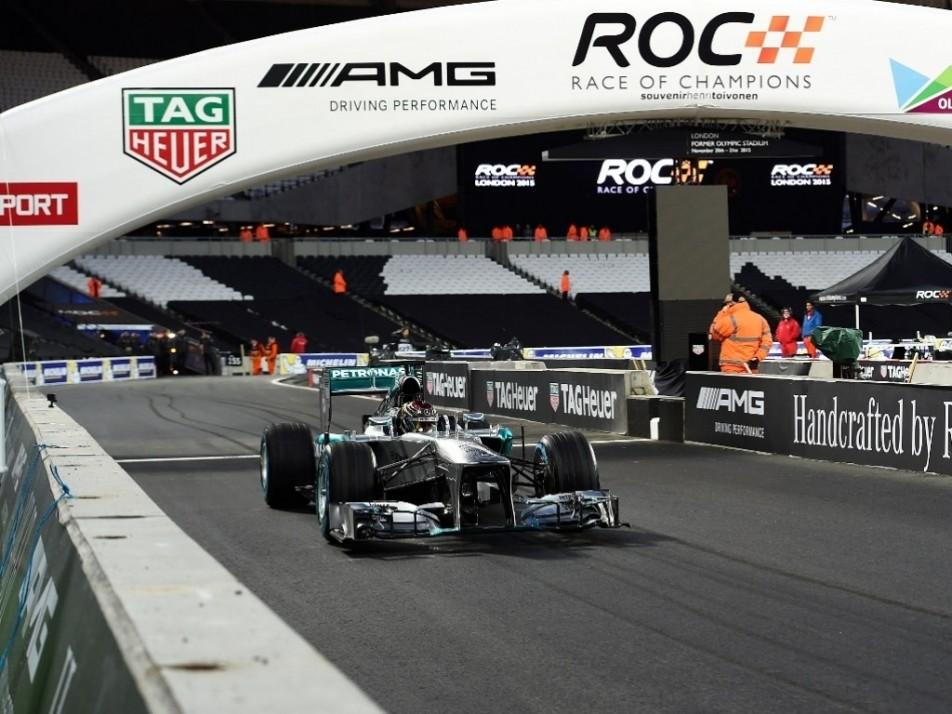Pascal Wehrlein put in a F1 demo run in a Mercedes