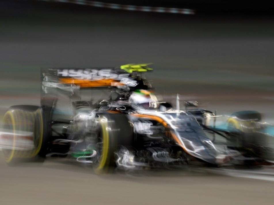 Sergio Perez has gone all fuzzy