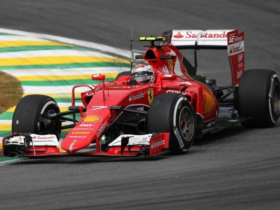 Kimi Raikkonen gets some laps under his belt