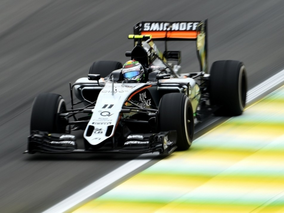 Three points stand between Force India and P5 for 2015
