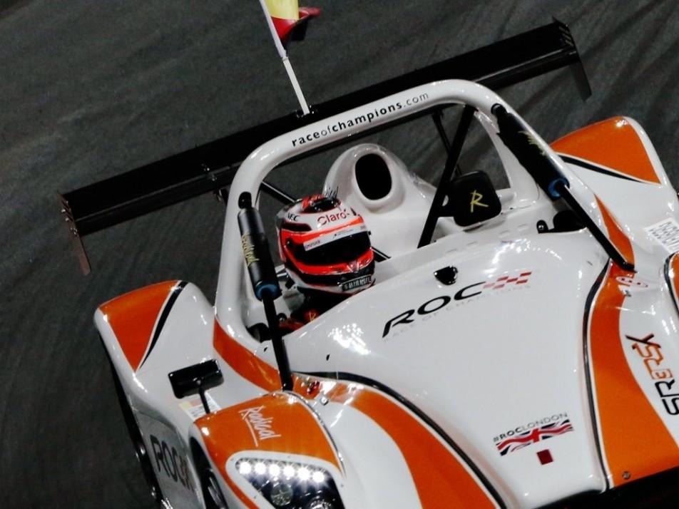 Nico Hulkenberg races the Radical SR3 RSX