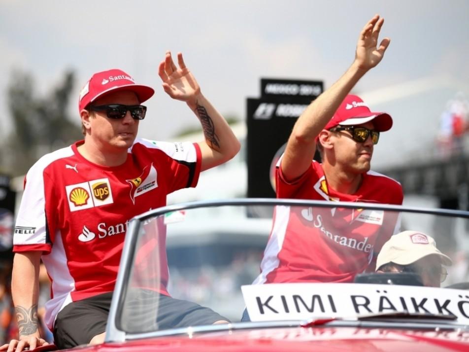 Ferrari's Mexican wave