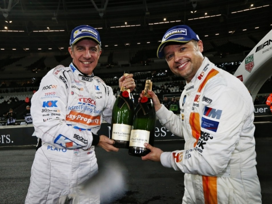 Jason Plato and Andy Priaulx won the Nations Cup for England