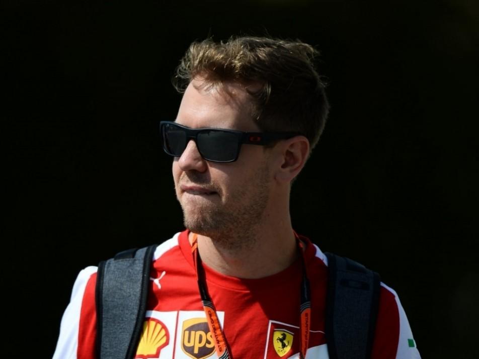 Seb Vettel chasing his fourth win of 2016
