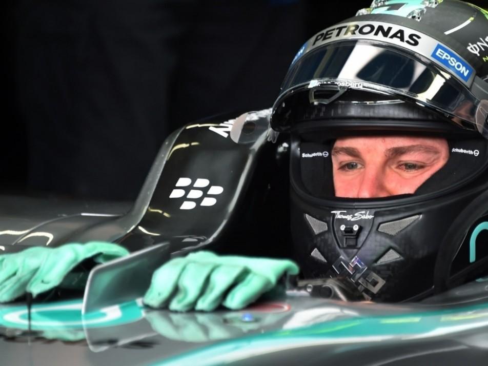 Gloves off for Rosberg