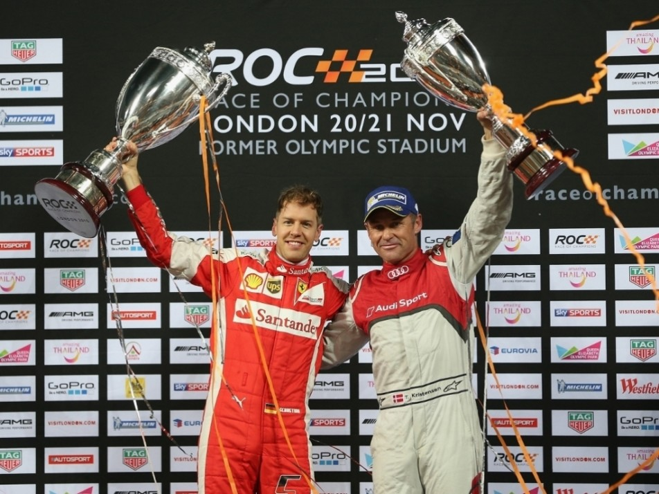Tom Kristensen had to settle for second