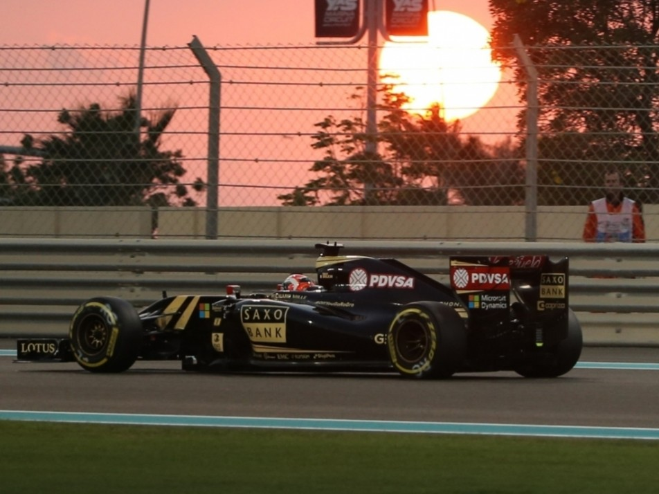 Sun also sets on Grosjean's Lotus career