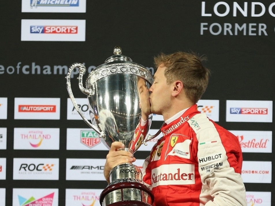 Vettel won the title for the first time in six attempts