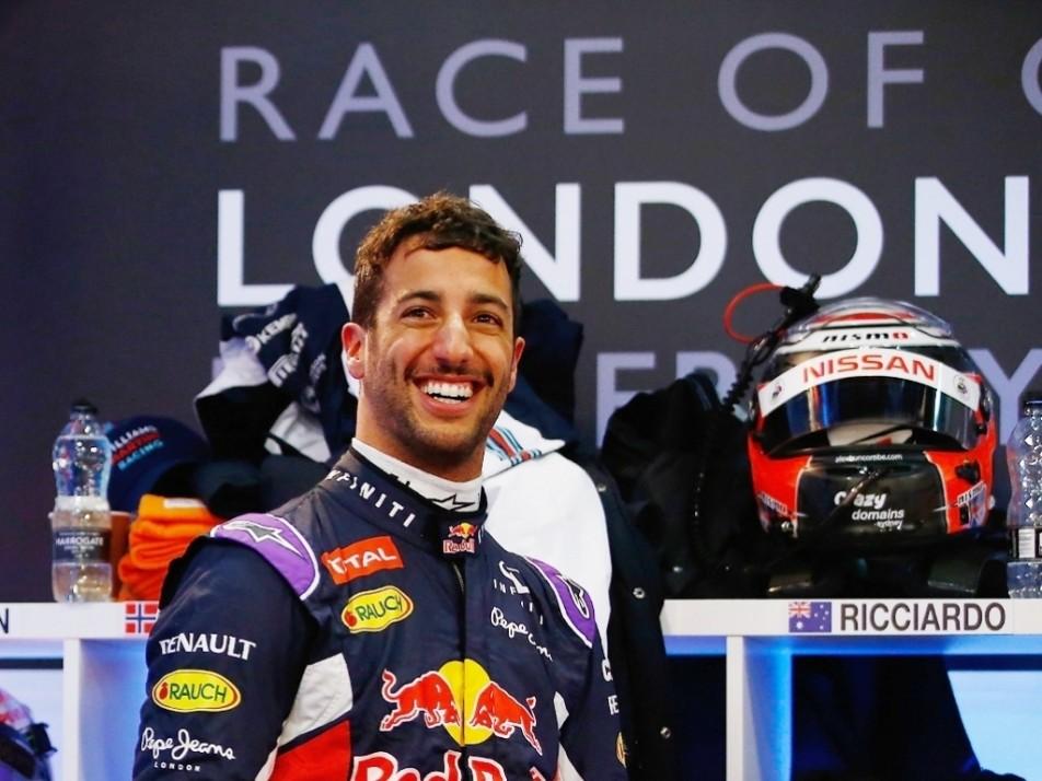 Daniel Ricciardo made his first ROC appearance