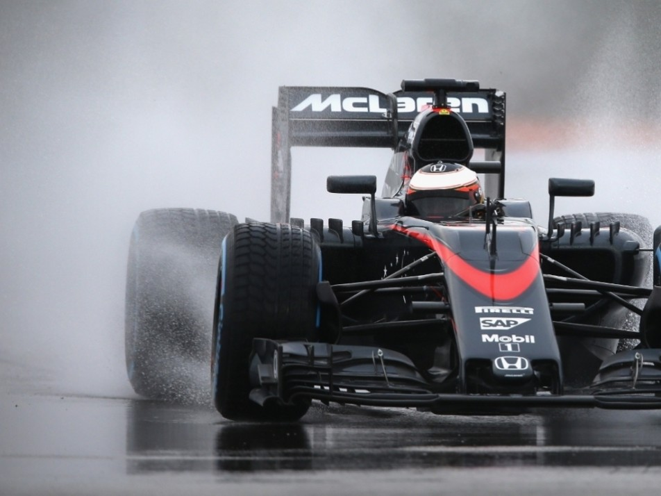 Tuesday was Vandoorne's second day testing the Pirelli tyres