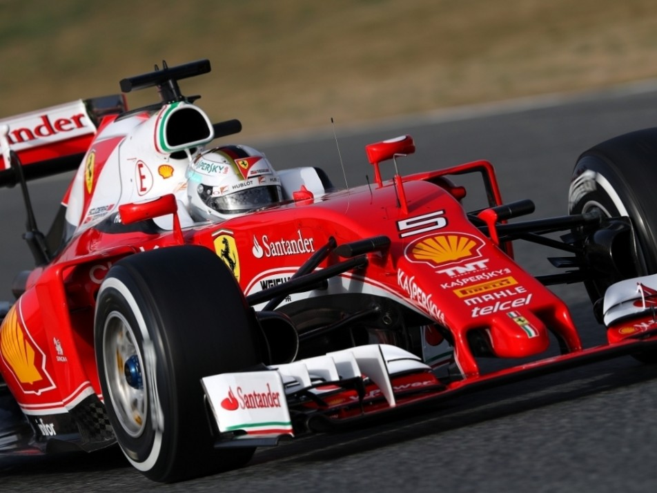 Vettel showed good pace for the second day running