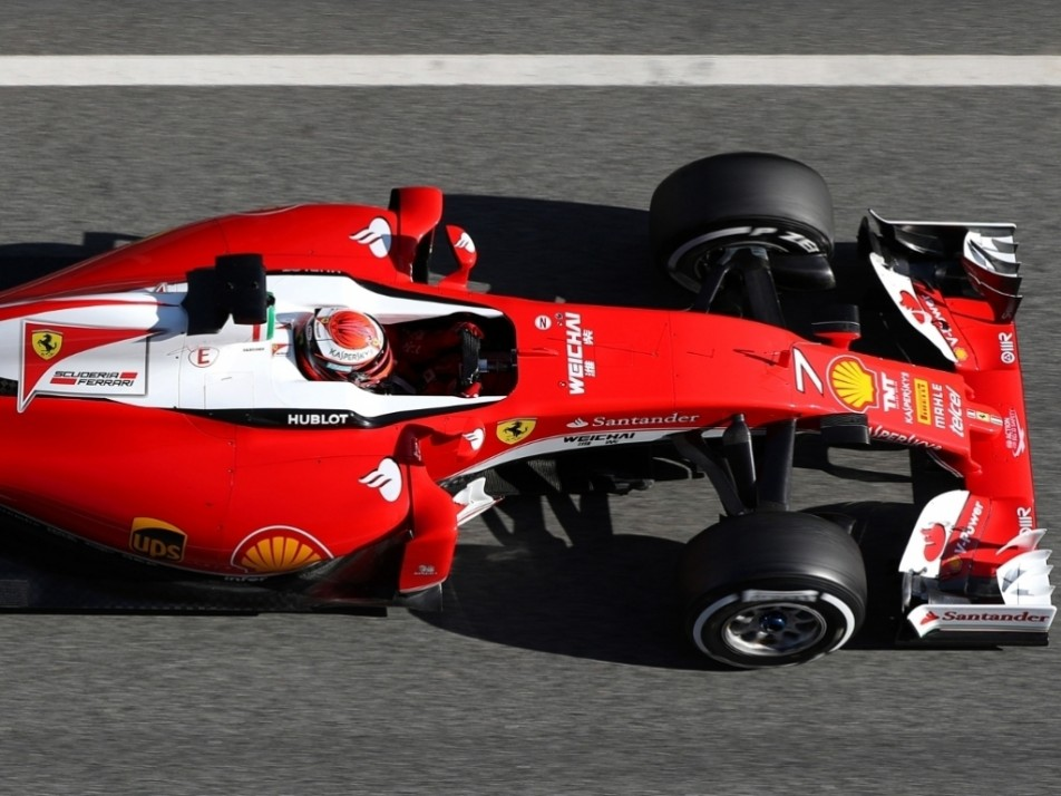 Raikkonen replaced Vettel on Day Three