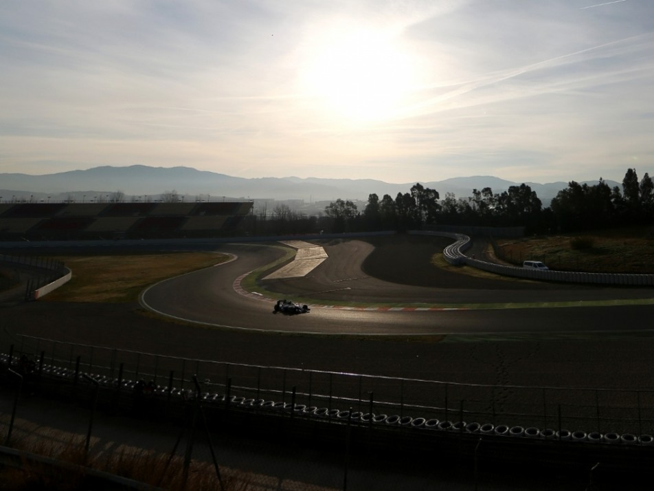 Not a bad view, both the setting and the W07