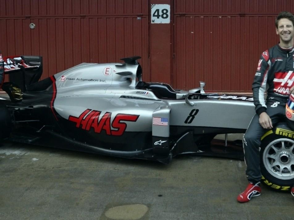Grosjean and Gutiérrez looking comfortable on their 2016 Haas car