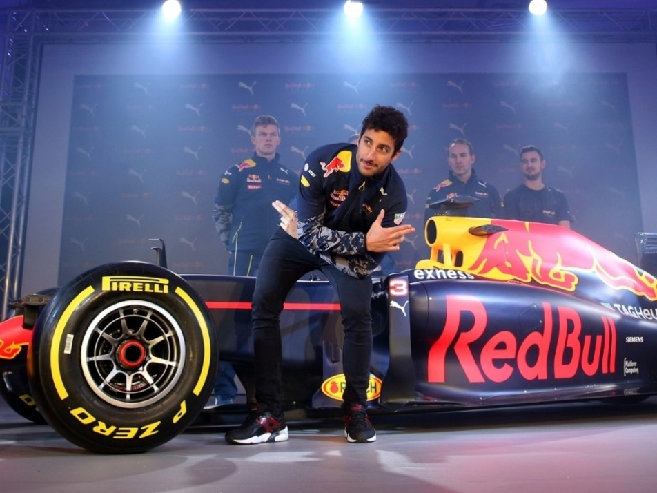 Daniel Ricciardo had fun