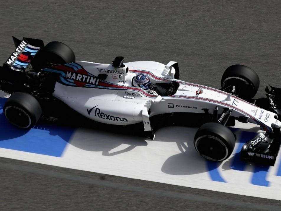 Bottas in his FW38