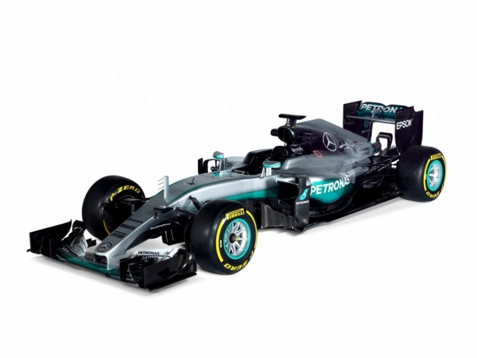 The Mercedes W07