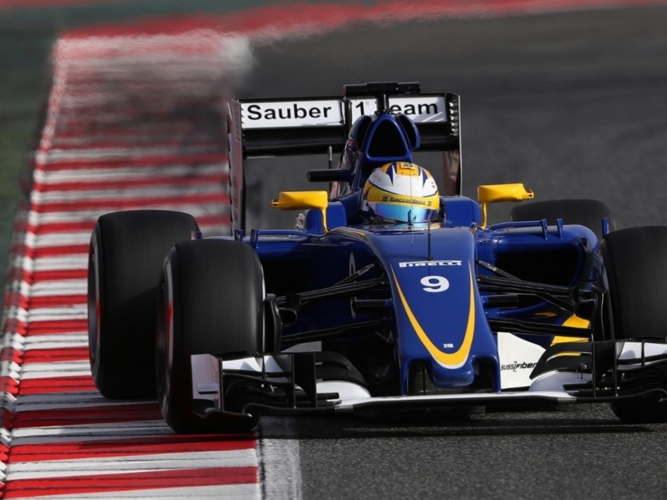 Ericsson ran an updated version of last year's car