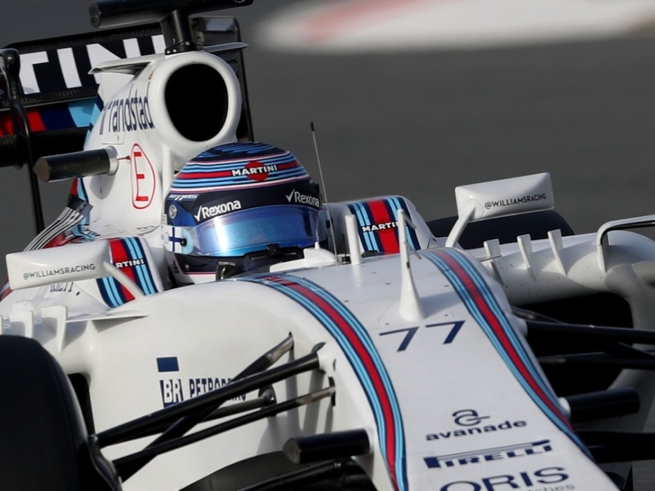 Bottas spent another day in the FW38
