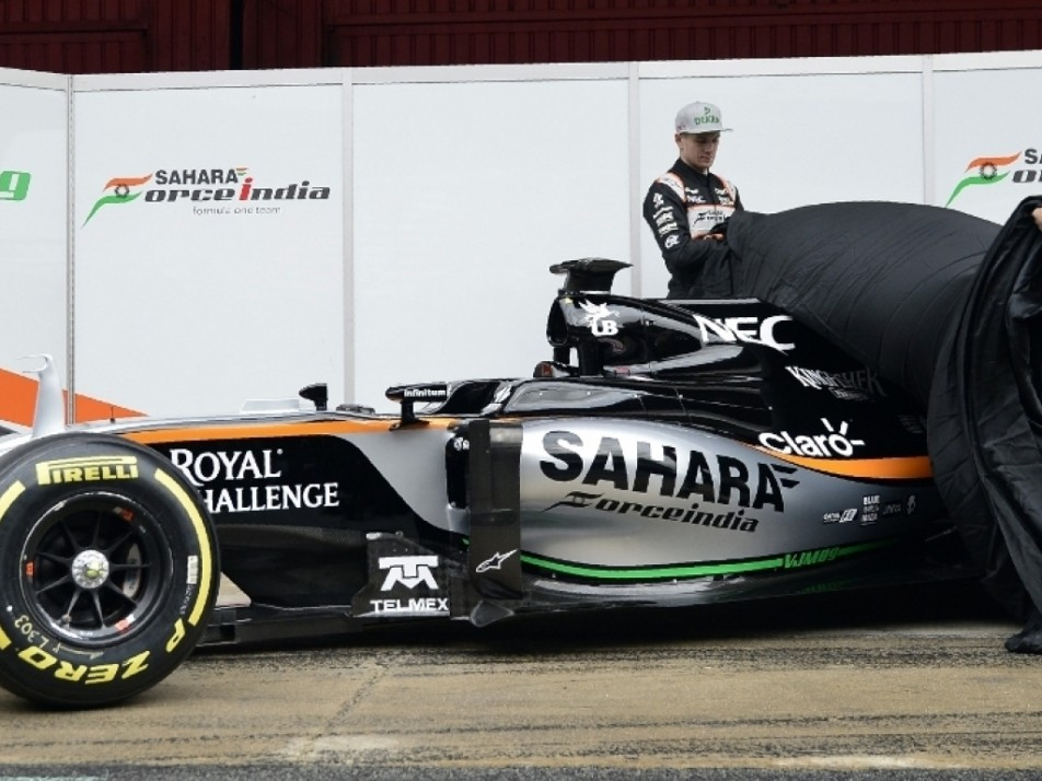 Perez and Hulkenberg revealing their new ride