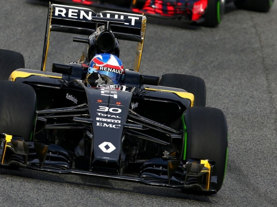 Close up of Palmer's Renault