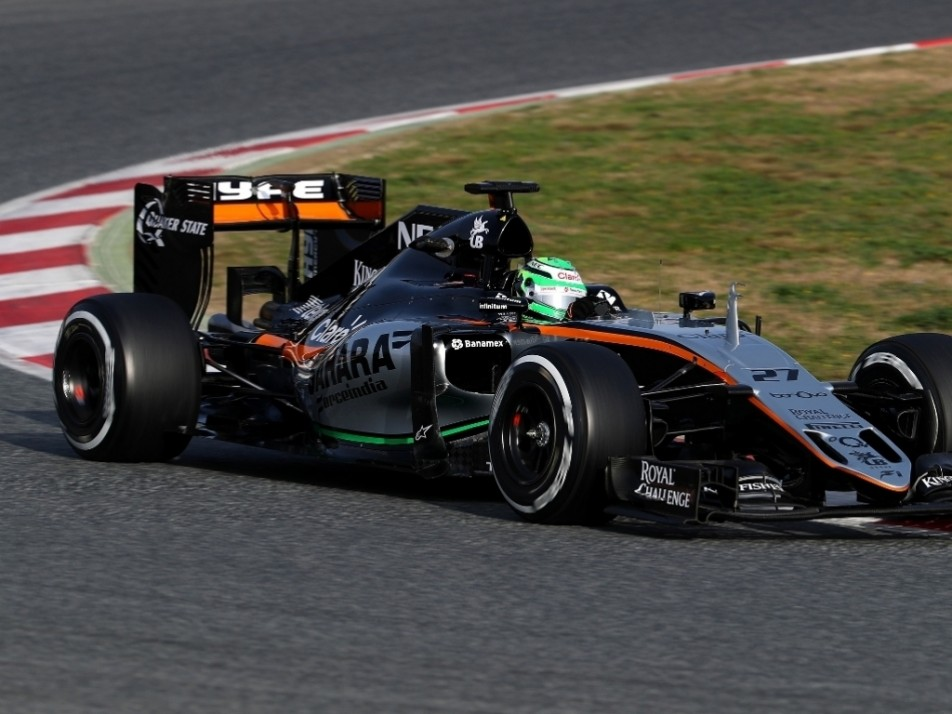 Hulkenberg showed good pace on Day Three