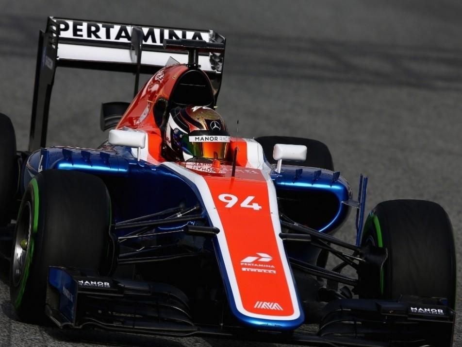 Wehrlein making his Manor debut