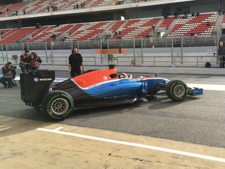Wehrlien eager to test out the new Manor car