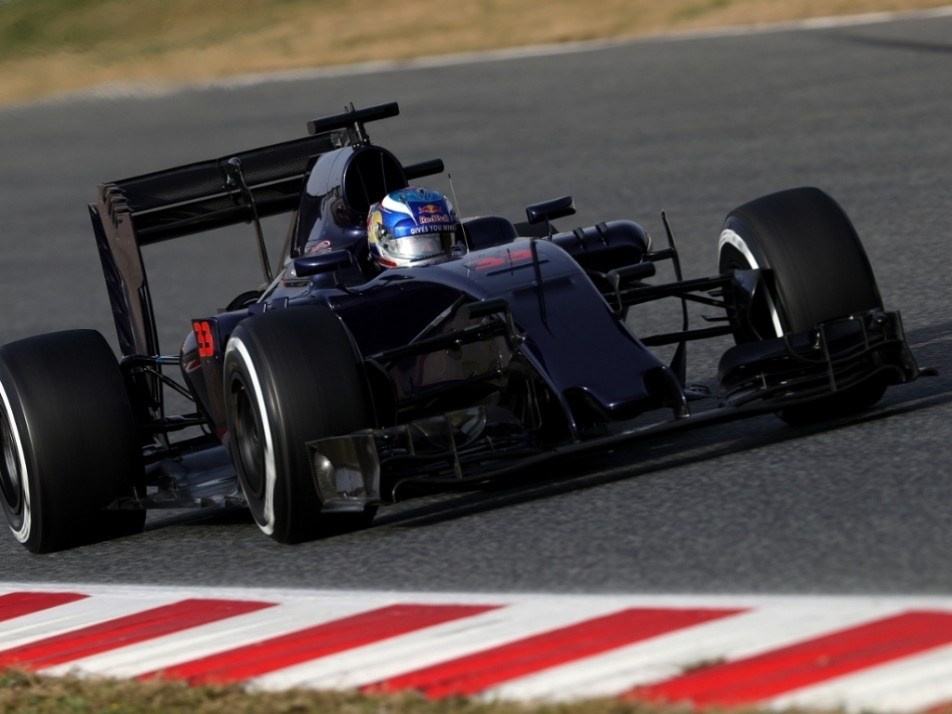 Max's first day in the STR11