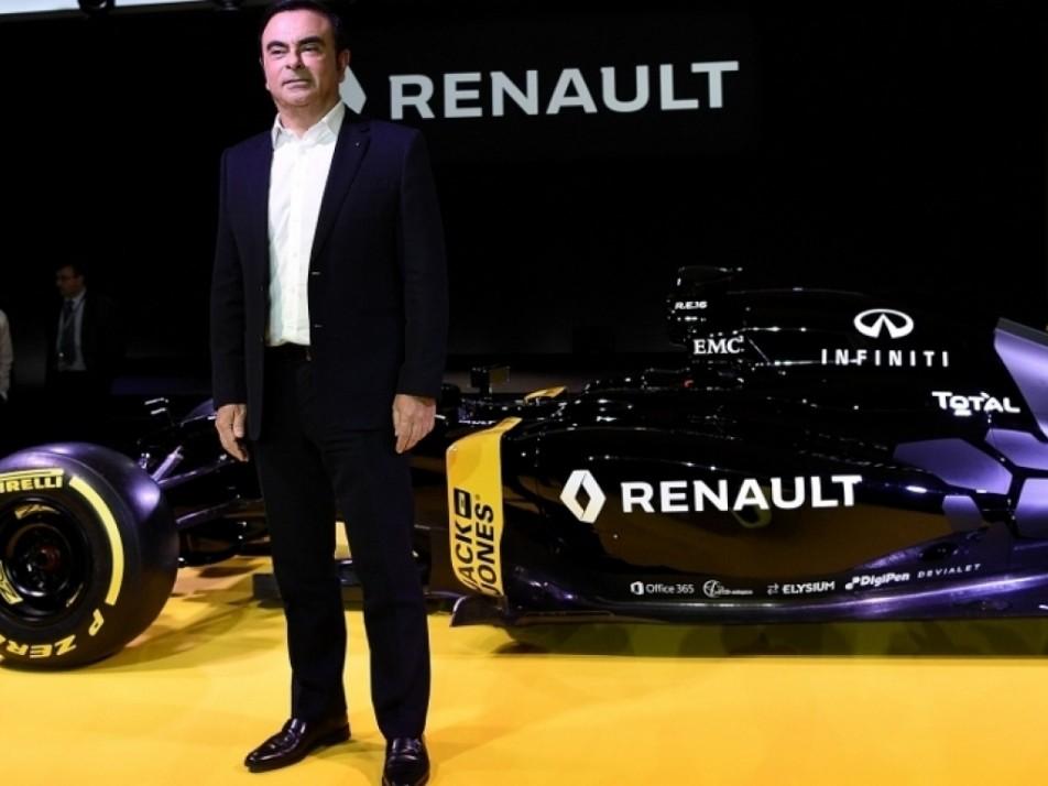 Renault CEO Carlos Ghosn