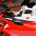 Ferrari Trial Halo On Day Three