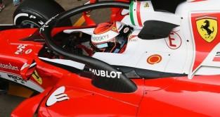 Ferrari Trial Halo On Day Three